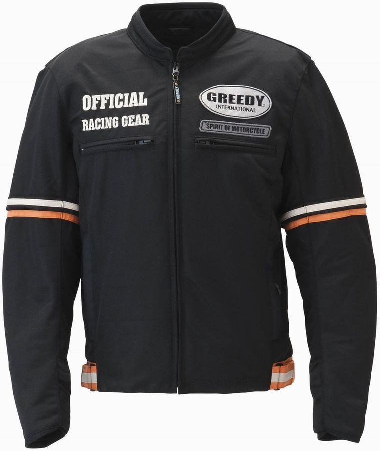 GREEDY グリーディー スリーブアジャストメッシュジャケット サイズ:M