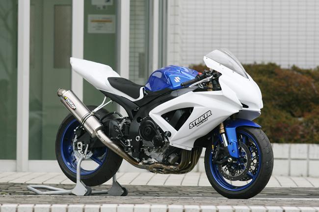STRIKER ストライカー フルエキゾーストマフラー GSX-R750 RACING CONCEPT[レーシングコンセプト] チタンフルエキゾースト GSX-R600 タイプ:チタン素地 GSX-R600 RACING GSX-R750, フルウグン:4204bee3 --- sunward.msk.ru
