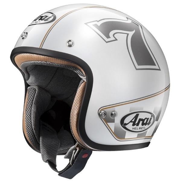 Arai アライ ジェットヘルメット CLASSIC-MOD CAFE RACER [クラシックモッド カフェレーサー ホワイト] ヘルメット サイズ:M