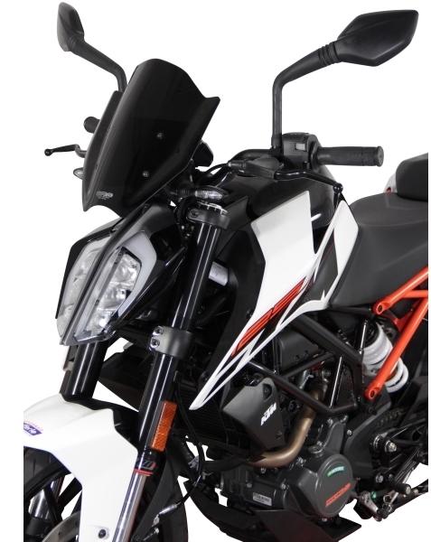 MRA エムアールエー スクリーンスポーツ カラー:ブラック 125DUKE 200DUKE 390DUKE