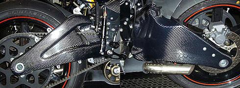 Magical Racing マジカルレーシング スイングアームカバー FIREBOLT XB9R LIGHTNING XB12S LIGHTNING XB12S