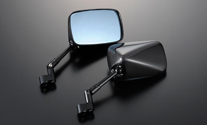 Magical Racing マジカルレーシング ミラー類 NK1ミラー TYPE-5 ステーカラー:ブラック ステム:エルボー ショート ヘッド素材:Gシルバー 付属ボルトサイズ:逆10mm×1/逆10mm×1