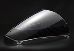【イベント開催中!】 Magical Racing マジカルレーシング カーボントリムスクリーン スーパーコート 綾織りカーボン製 CBR600RR