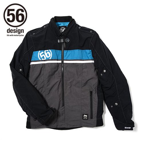 【送料無料】ジャケット 56design 56デザイン 20-1839-102-206  ポイント10倍! 56design 56デザイン ナイロンジャケット 56 R-Line GP Jacket [56 Rライン GP ジャケット] サイズ:XL