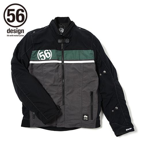 56design 56デザイン ナイロンジャケット 56 R-Line GP Jacket [56 Rライン GP ジャケット] サイズ:L