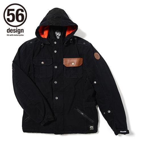56design 56デザイン ライディングジャケット M-56 Cotton Parka [M-56 コットン パーカー] サイズ:M