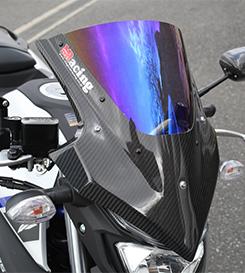 【在庫あり】【イベント開催中!】 Magical Racing マジカルレーシング バイザースクリーン スクリーンタイプ:スモーク 素材:平織りカーボン製 MT-25