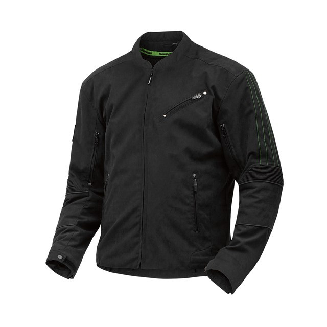 US KAWASAKI 北米カワサキ純正アクセサリー ライディングジャケット ツイストテキスタイルジャケット (Twisted Textile Jacket) サイズ:XL