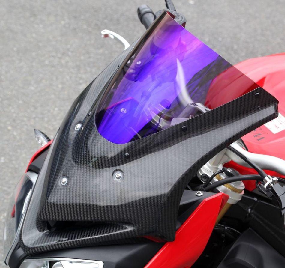 【イベント開催中!】 Magical Racing マジカルレーシング バイザースクリーン 素材:綾織りカーボン製/スモーク S1000R