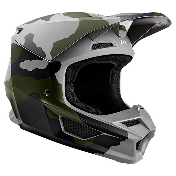 FOX フォックス オフロードヘルメット MX19 V1 HELMET [V1 カモ ヘルメット スペシャルエディション] サイズ:L(59-60cm)