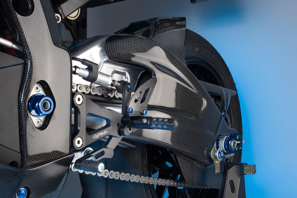 LighTech ライテック リアフェンダー カーボンパーツ SUZUKI用 リア マッドガード GSXR 1000 09-16