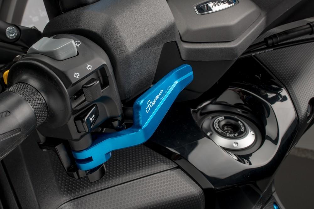 LighTech ライテック パーキングブレーキレバー カラー:ブルー T-MAX 500 08-12 T-MAX 530 12-15