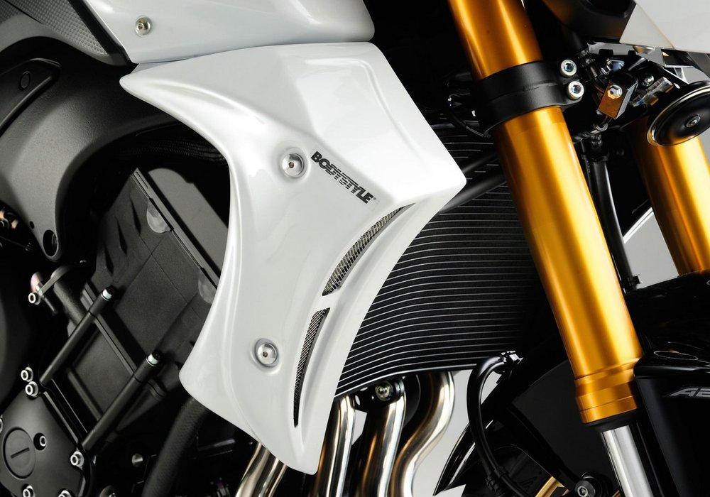 BODY STYLE ボディースタイル ラジエーターカバー(Sportsline radiator side cover) FZ8