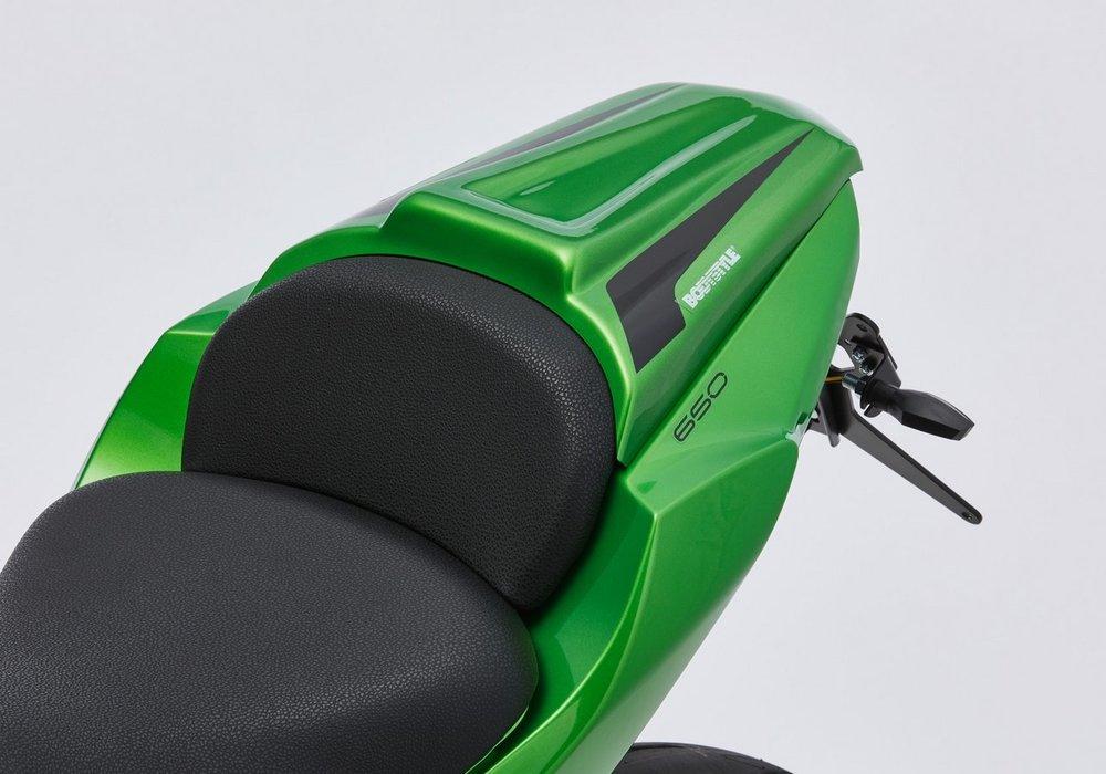 BODY STYLE ボディースタイル スポーツライン シートカバー 【Sportsline seat cover】 Ninja 650 Z650