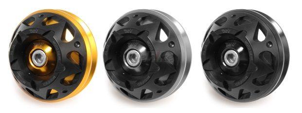 Dimotiv ディモーティヴ 3Dフロントアクスルスライダー(Front Axle Slider-3D) GSX1300R ハヤブサ(隼)