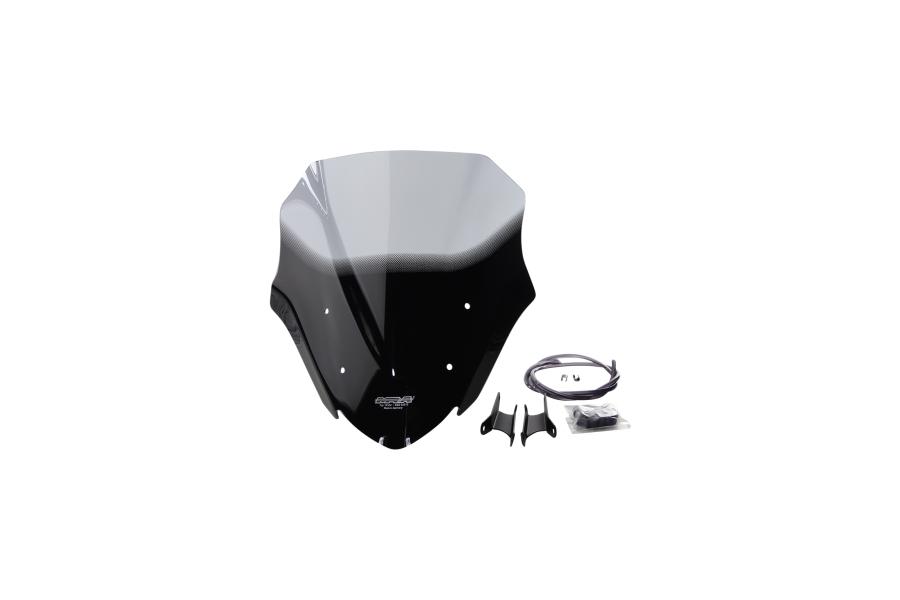 MRA エムアールエー スクリーン レーシング カラー:ブラック/グラデーション無し Z900 (2017-)