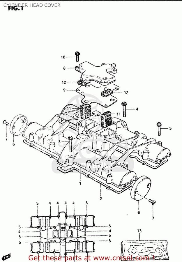 CMS シーエムエス ガスケット (11402-49870) GASKET SET
