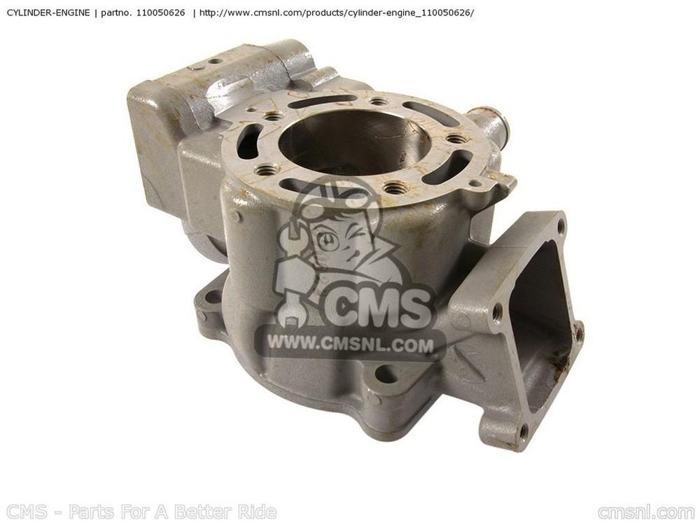 CMS シーエムエス その他エンジンパーツ CYLINDER-ENGINE KX100-FEF 2014 USA