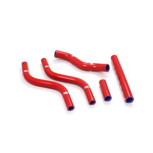 SAMCO SPORT サムコスポーツ ラジエーター関連部品 クーラントホース(ラジエーターホース) カラー:メタリックシルバー (限定色) CR 125 R 1988-1989
