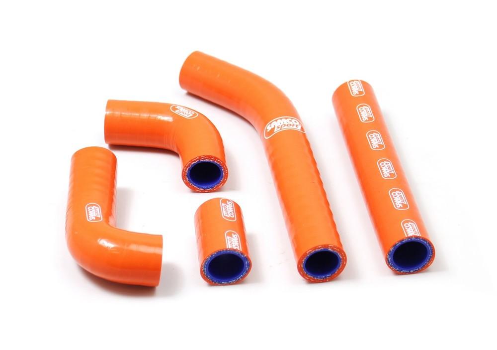 SAMCO SPORT サムコスポーツ ラジエーター関連部品 クーラントホース(ラジエーターホース) カラー:ブレイズ (限定色) TE 125 2011-2012