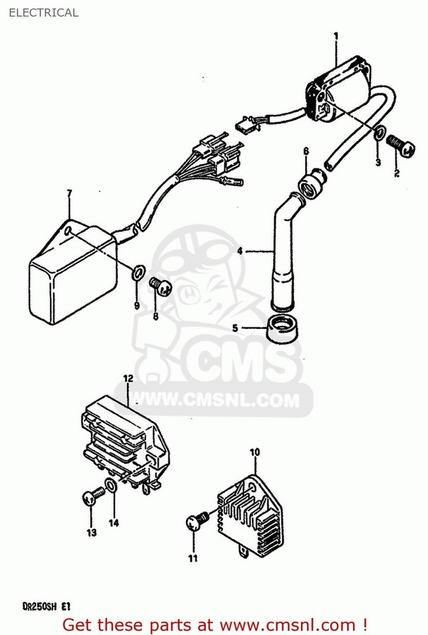 CMS シーエムエス その他電装パーツ (32800-33401) RECTIFIER ASSEMBLY
