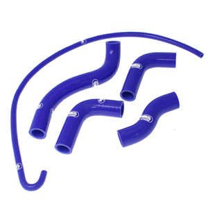 SAMCO SPORT サムコスポーツ ラジエーター関連部品 クーラントホース(ラジエーターホース) カラー:ライトニングブルーカモ (限定色) Z 750 2004-2006