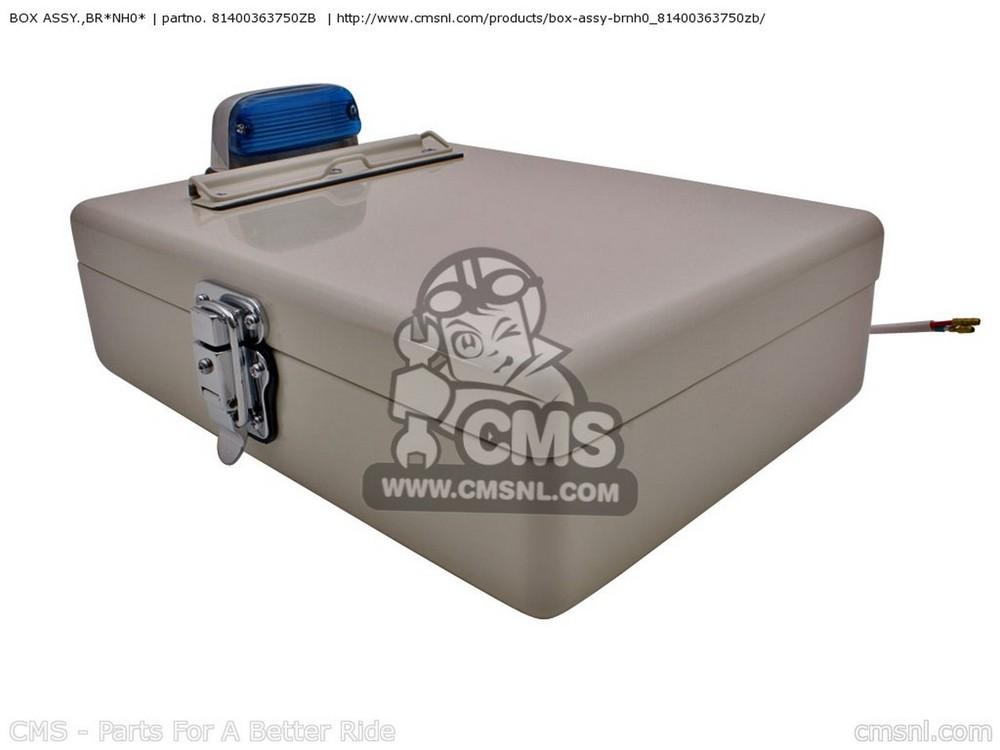 CMS シーエムエス トップケース・テールボックス BOX ASSY.,BR*NH0*