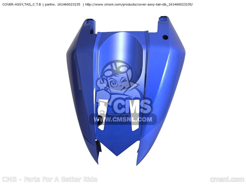 CMS シーエムエス テールカウル COVER-ASSY,TAIL,C.T.B ZX1000C1 NINJA ZX10R 2004 USA CALIFORNIA CANADA