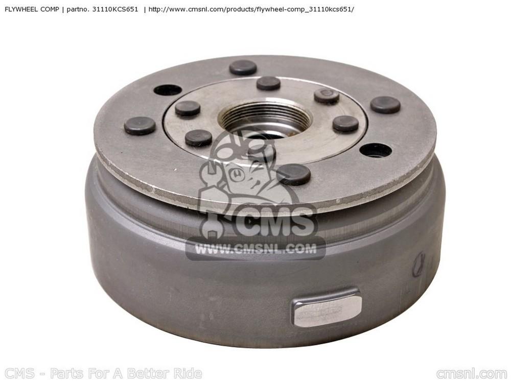 CMS シーエムエス FLYWHEEL COMP CG125 2000 (Y) MEXICO CG125 2001 (1) GENERAL EXPORT / KPH