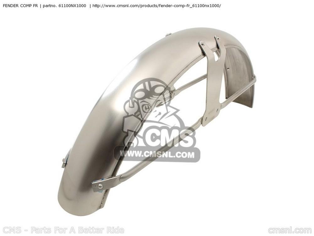 CMS シーエムエス フロントフェンダー FENDER COMP FR CB50R DREAM (4)