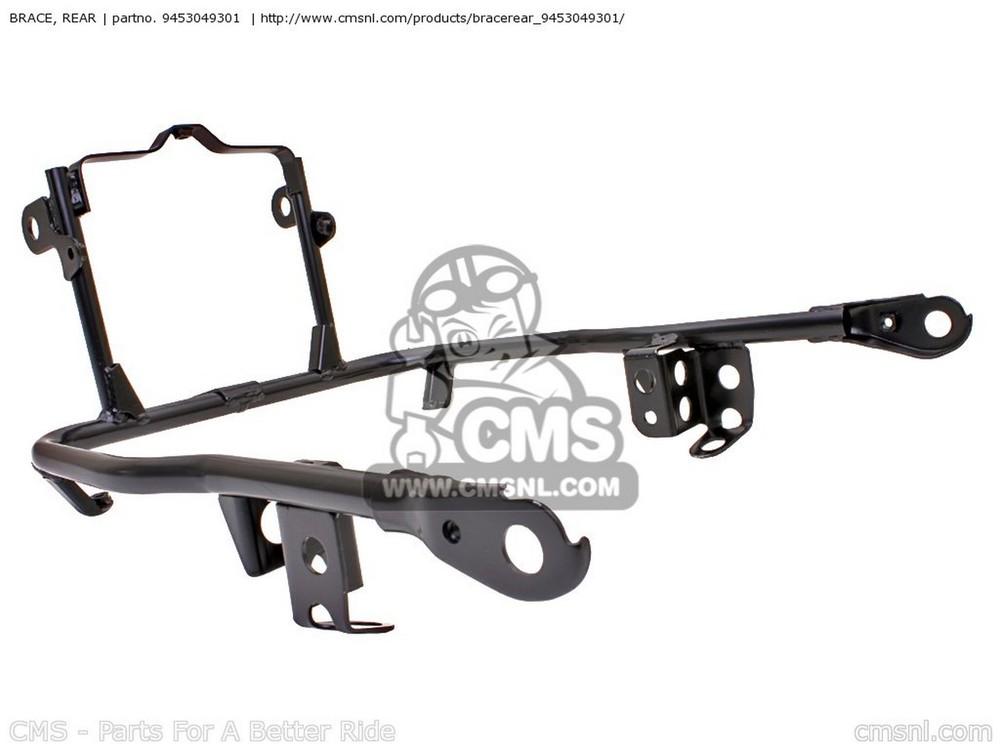 CMS シーエムエス その他外装関連パーツ BRACE,COWLING RR GS1000 1982 (Z) USA (E03) GS1100S 1983 (D) USA (E03) GS750A 1983 (D) USA (E03)