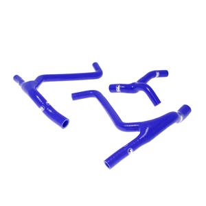 SAMCO SPORT サムコスポーツ ラジエーター関連部品 クーラントホース(ラジエーターホース) カラー:ライトニングブルーカモ (限定色) KX 450 F 2009