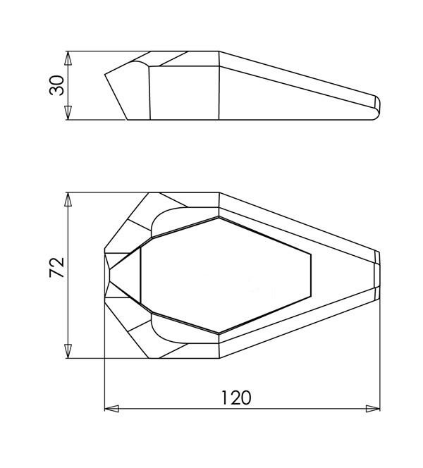 スライダーベースカラー:ブラック ガード・スライダー アールディーモト アルマイトカラー:レッドアルマイト RDmoto (Crash sliders) クラッシュスライダー・ガード