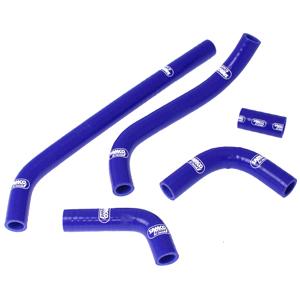 SAMCO SPORT サムコスポーツ ラジエーター関連部品 クーラントホース(ラジエーターホース) カラー:ブルー TZ 250 Reverse Cylinder 1990
