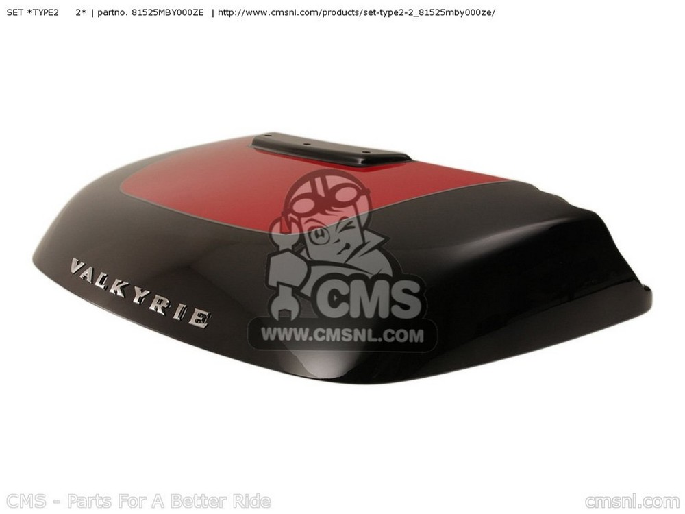 CMS シーエムエス その他ケース SET *TYPE2   2* GL1500CF VALKYRIE INTERSTATE 2000 (Y) USA