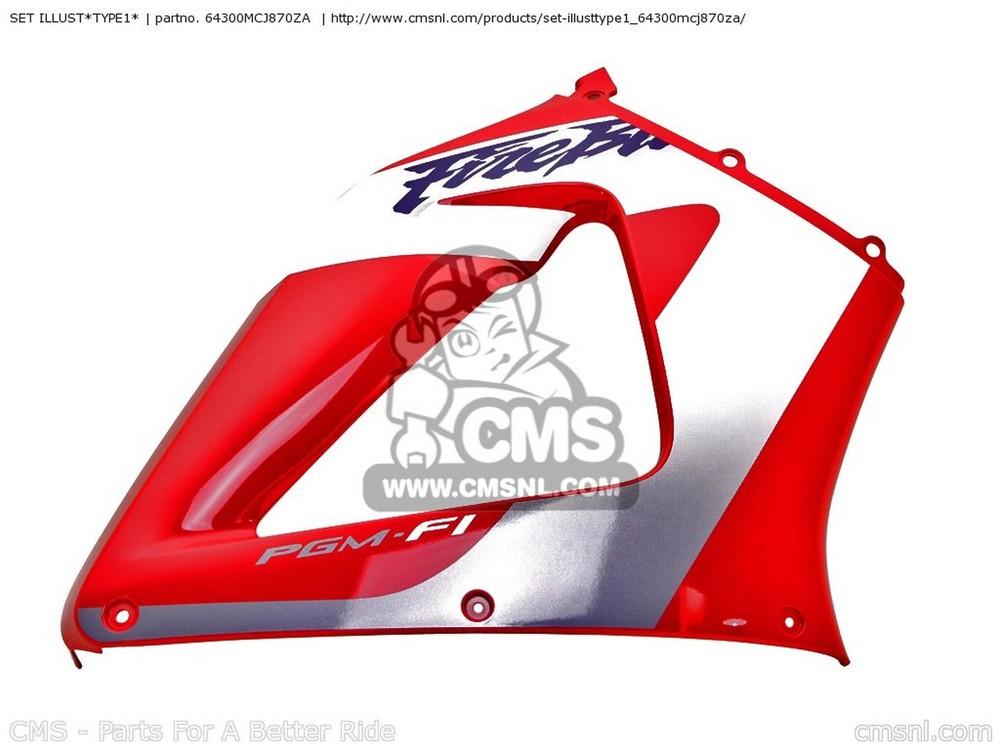 CMSシーエムエス タンク SET ブランド激安セール会場 ILLUST TYPE1 CMS ENGLAND CBR900RR 選択 1 FIREBLADE シーエムエス