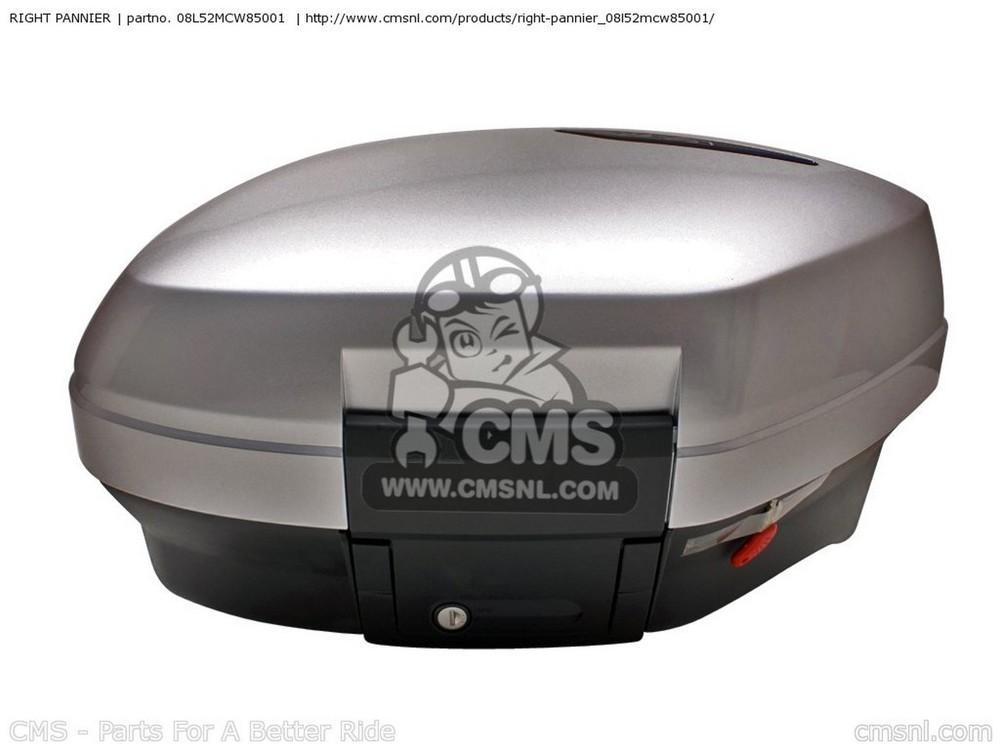 CMS シーエムエス (08L52-MCW-85101) RIGHT PANNIER