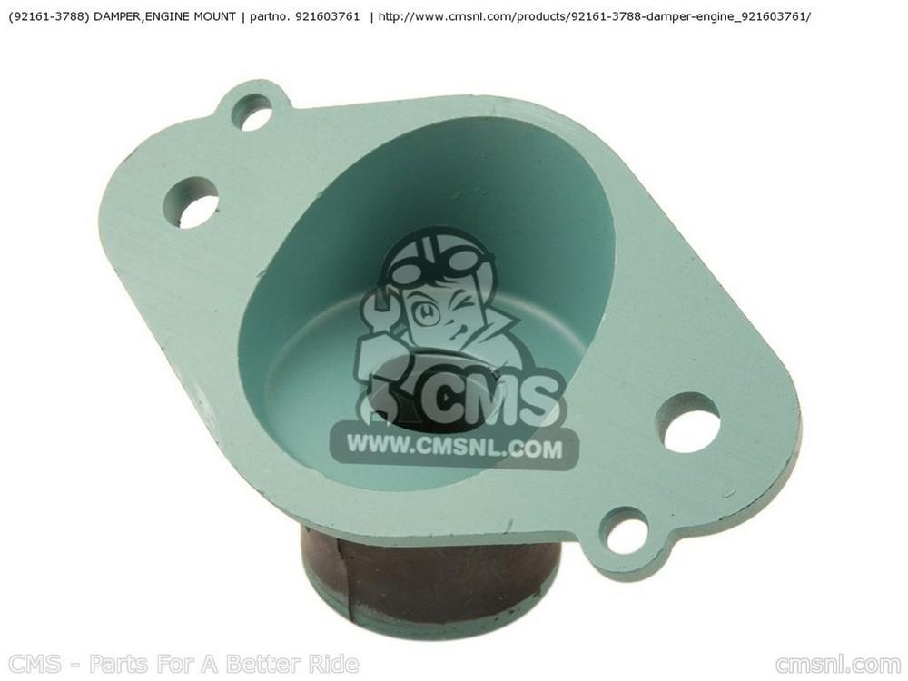 CMS シーエムエス その他エンジンパーツ (921613788) DAMPER,ENGINE MOUNT JS800-A7F JETSKI800 SX-R 2007 USA