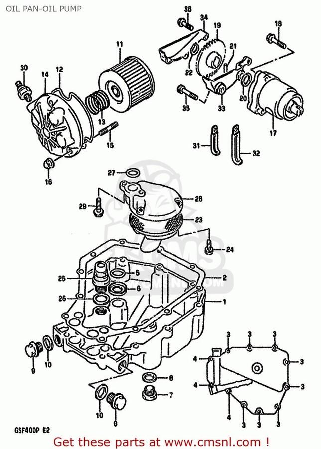 CMS シーエムエス オイルポンプ・フィラーキャップ・オイル関連パーツ PUMP ASSY,ENGINE OIL