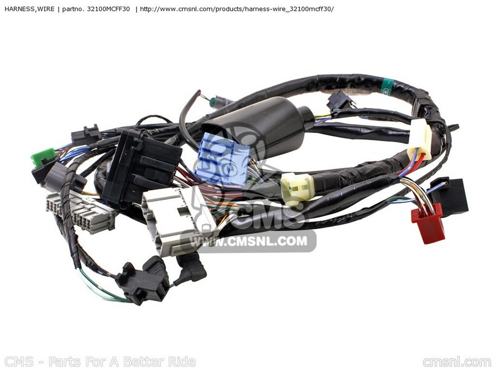 CMS シーエムエス HARNESS,WIRE VTR1000SP FIRESTORM (3) FRANCE VTR1000SP FIRESTORM (4) FRANCE / CMF