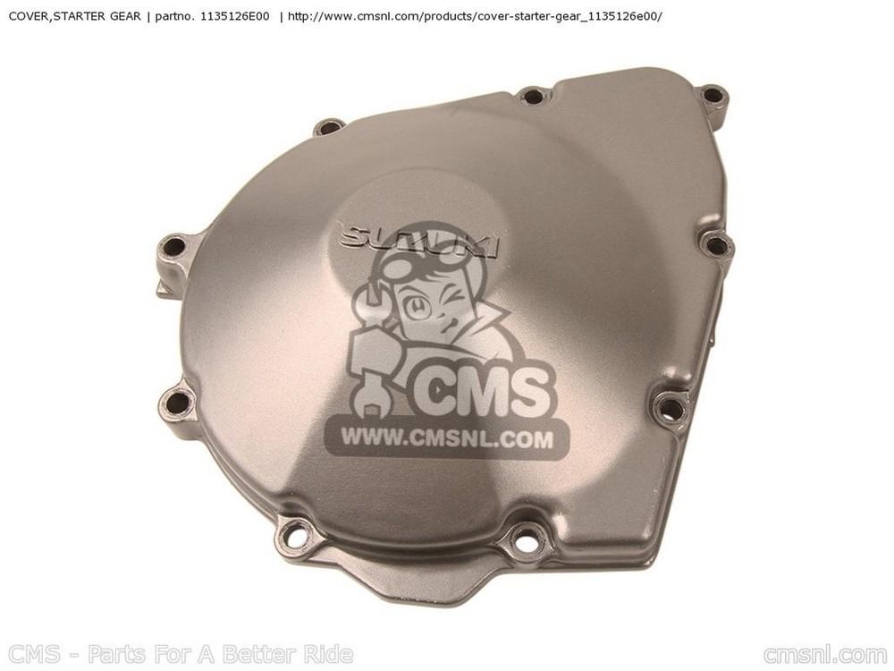 CMS シーエムエス エンジンカバー (1135126E01) COVER,STARTER GEAR