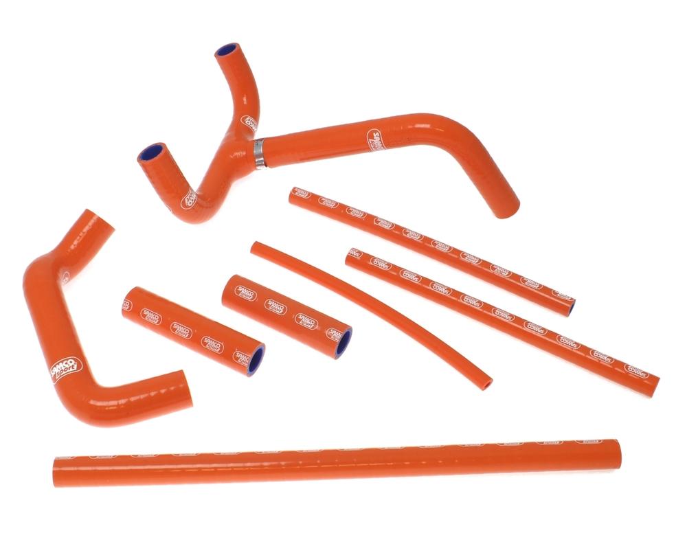 SAMCO SPORT サムコスポーツ ラジエーター関連部品 クーラントホース(ラジエーターホース) カラー:アイスホワイト 450 SMR 2011-2012 450 SX-F 2011-2012