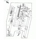 CMS シーエムエス その他外装関連パーツ ボルト、フォークトップ (Bolt,fork Top) KZ900