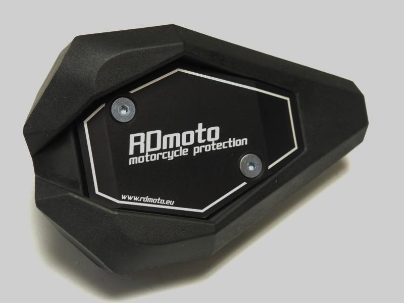 RDmoto アールディーモト ガード・スライダー クラッシュスライダー・ガード(Crash sliders) アルマイトカラー:ブルーアルマイト スライダーベースカラー:ホワイト