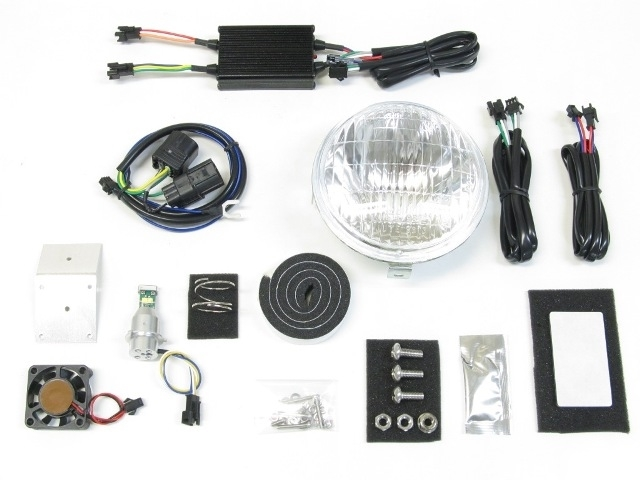 PROTEC プロテック LBH-H11 LEDクラシカルヘッドライト 6000k スーパーカブ110プロ