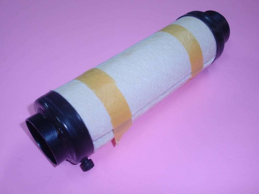 【在庫あり】MISTY ミスティ バッフル・消音装置 64Φサイレンサー サイズ:L(内径:40mm)