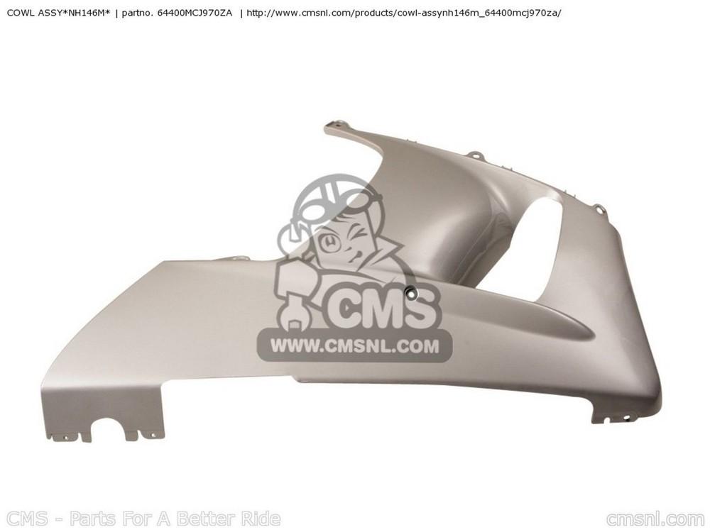 CMS シーエムエス COWL ASSY*NH146M* CBR900RR FIREBLADE (1) ENGLAND
