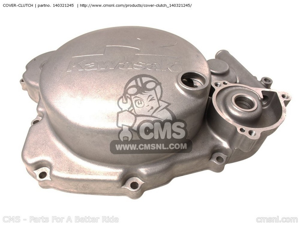 CMS シーエムエス エンジンカバー COVER-CLUTCH KX500-E15 KX500 2003 USA CANADA KX500-E16 KX500 2004 USA CANADA