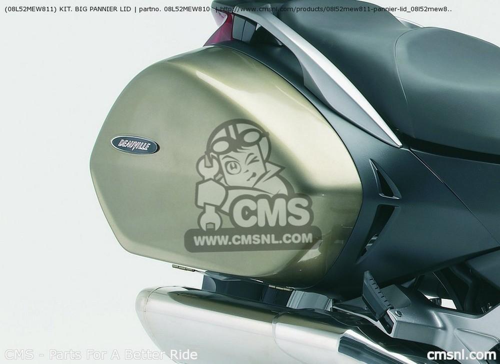 CMS シーエムエス (08L52MEW811) KIT. BIG PANNIER LID