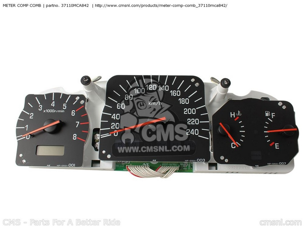 CMS シーエムエス スピードメーター METER COMP COMB GL1800A GOLDWING 2002 (2) EUROPEAN DIRECT SALES GL1800A GOLDWING 2002 (2) FRANCE / CMF